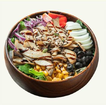샐러비 메뉴-구운버섯 샐러드