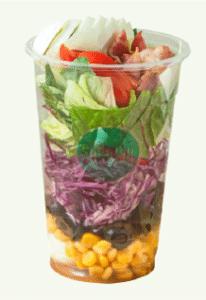 샐러비 메뉴-베이컵 샐러드