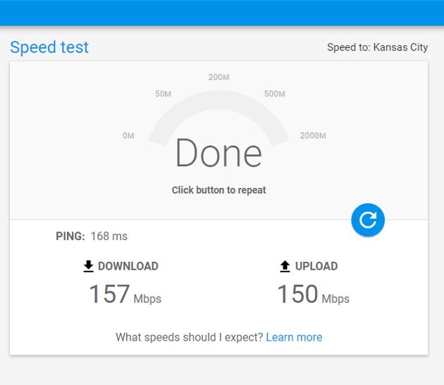 인터넷 속도-speedtest.googlefiber.net 2