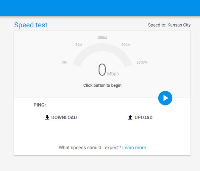 인터넷 속도-speedtest.googlefiber.net