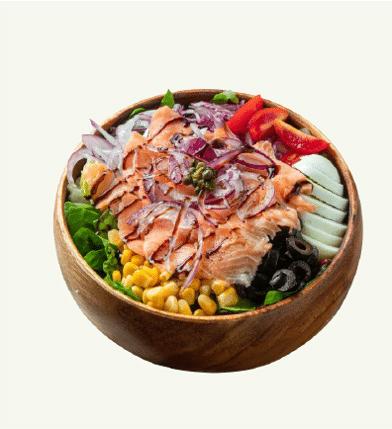 샐러비 메뉴-훈제연어 샐러드