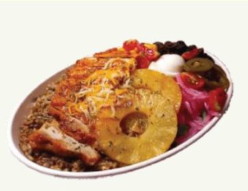 샐러비 메뉴-더블파인 치킨 수퍼보울