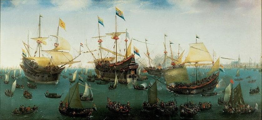 VOC 네덜란드 동인도회사 항해